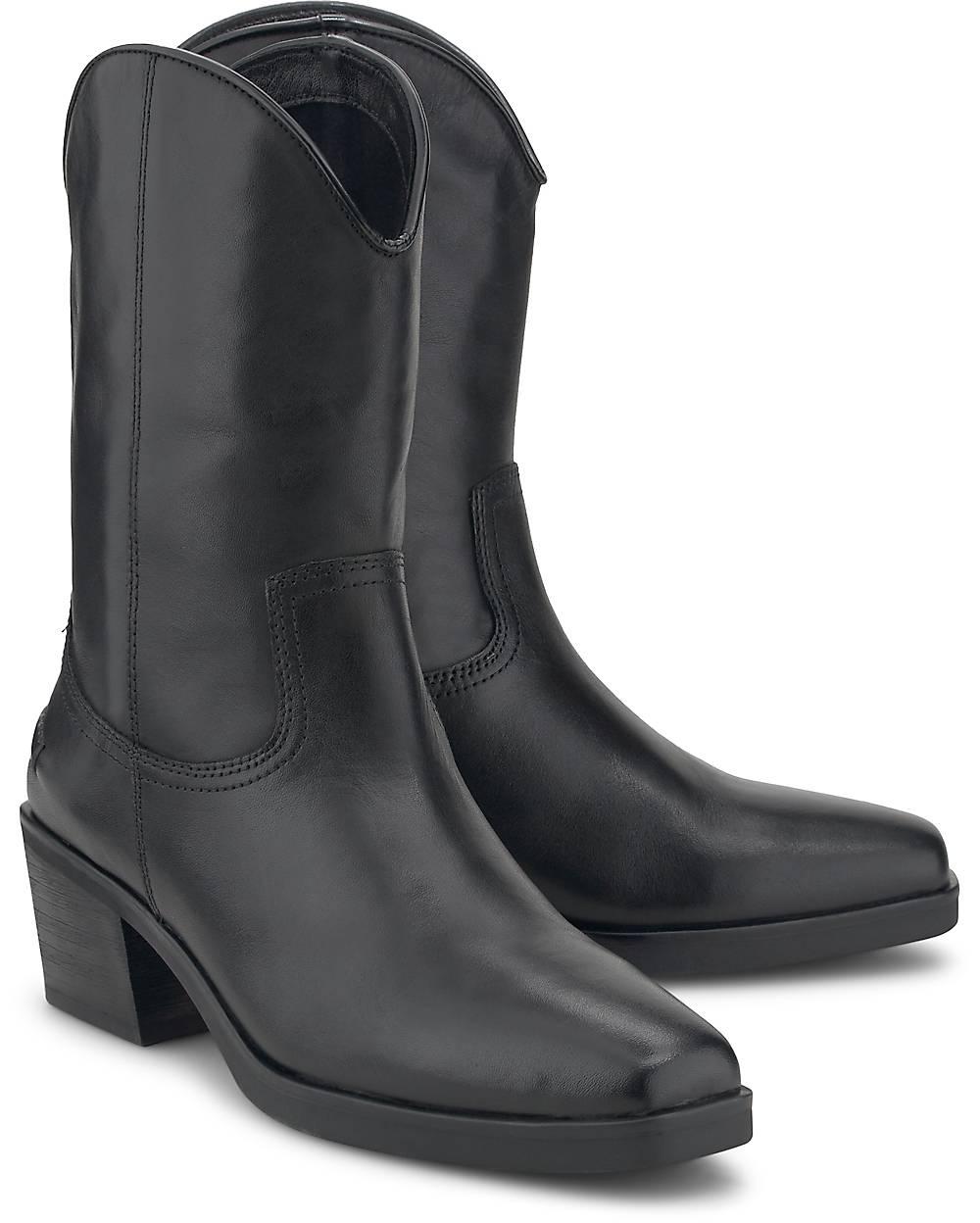 Vagabond Stiefelette SIMONE schwarz~48830701~front~1000 - aktuelle Schnäppchen von Goertz