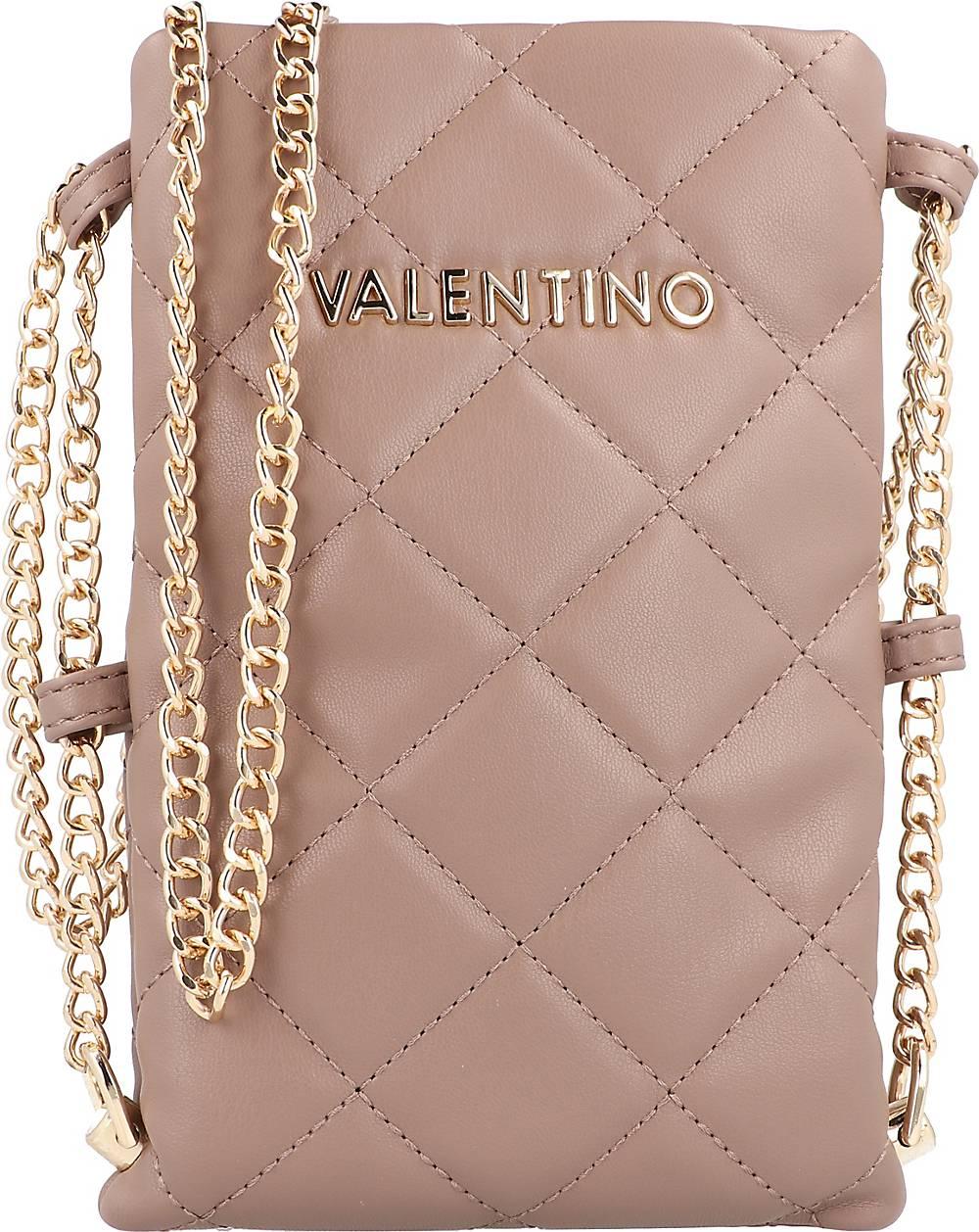 Valentino Bags, Ocarina Handytasche 13 Cm in mittelbraun, Handyhüllen & Zubehör für Damen