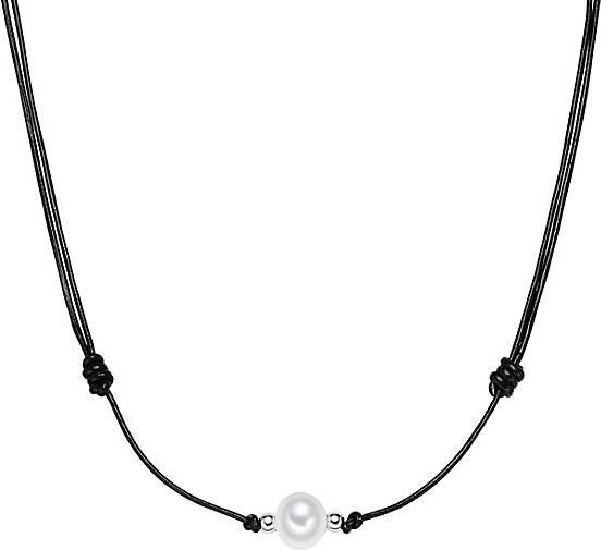 Valero Pearls Leder-Kette