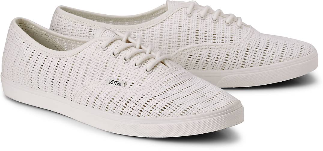 vans damen authentic lo pro marshmallow