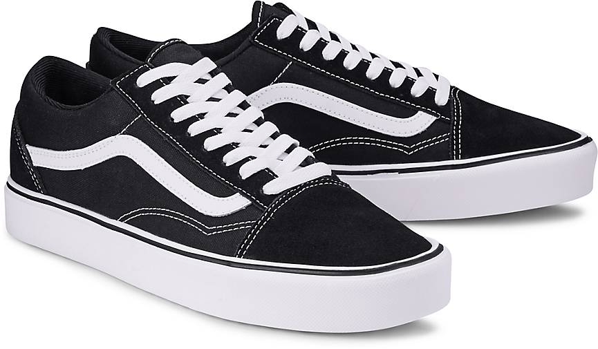 vans old skool white hoch