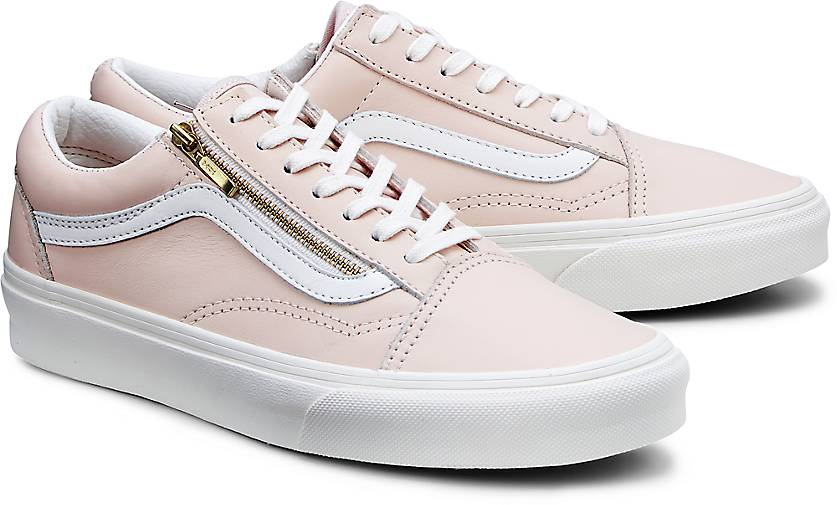 vans damen rosa old school