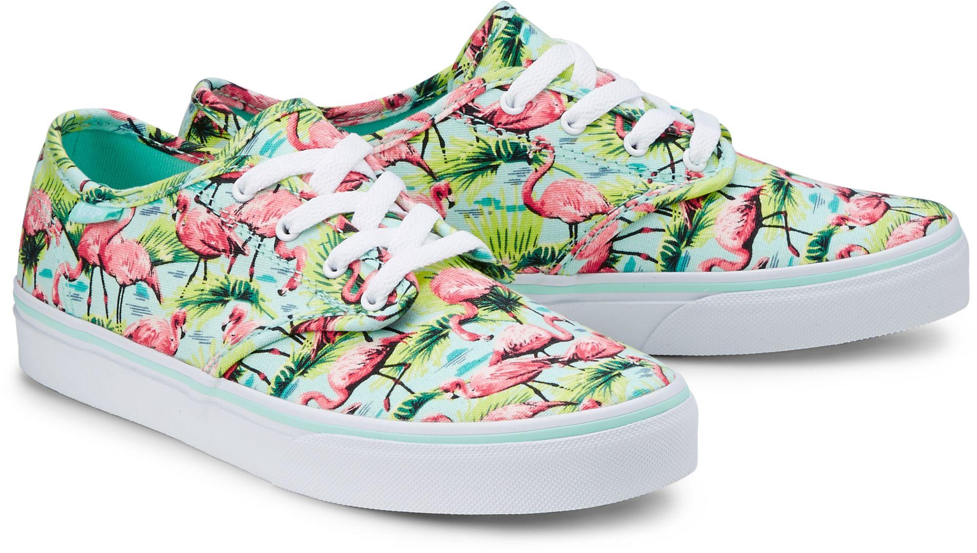 23648cc92c0cdc Sneaker ATWOOD von Vans in grün hell für Mädchen. Gr. 34