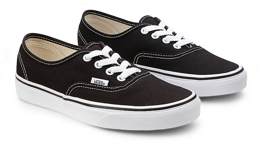 vans sneaker authentic damen schwarz goertz. Black Bedroom Furniture Sets. Home Design Ideas