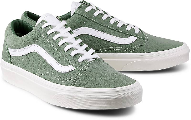 damen vans old skool blau
