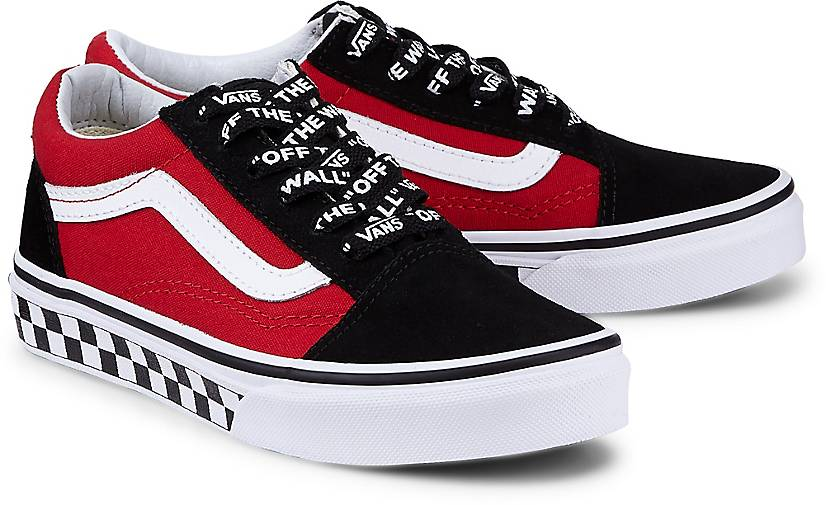 vans sneaker uy old skool in rot kaufen g rtz. Black Bedroom Furniture Sets. Home Design Ideas