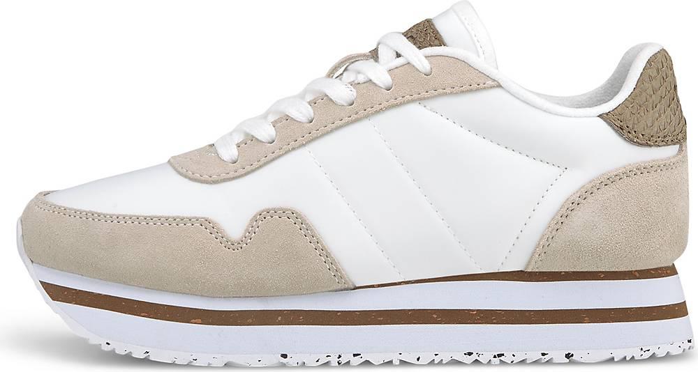 WODEN, Plateau-Sneaker Nora Iii in weiß, Sneaker für Damen, Größe: 36