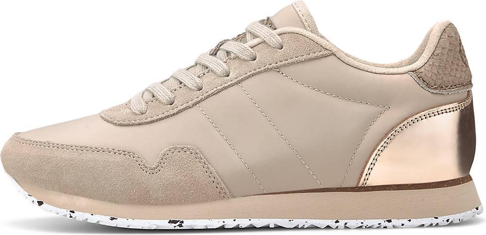 WODEN, Sneaker Nora Iii in beige, Sneaker für Damen, Größe: 36