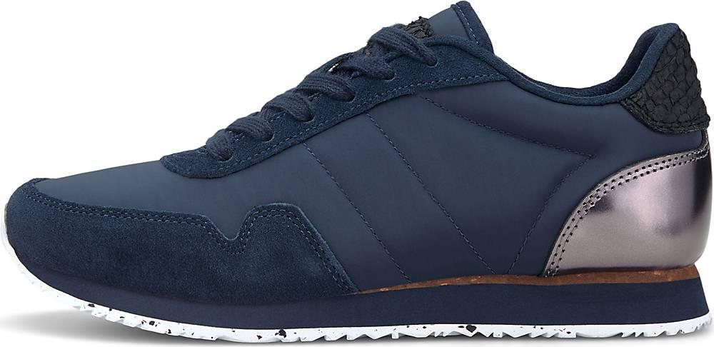 WODEN, Sneaker Nora Iii in dunkelblau, Sneaker für Damen, Größe: 36