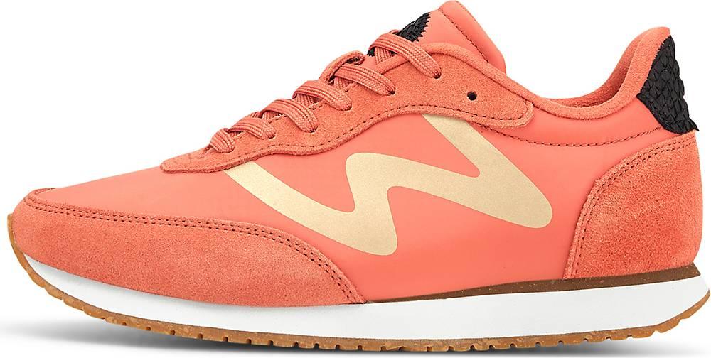 WODEN, Sneaker Olivia in orange, Sneaker für Damen, Größe: 36