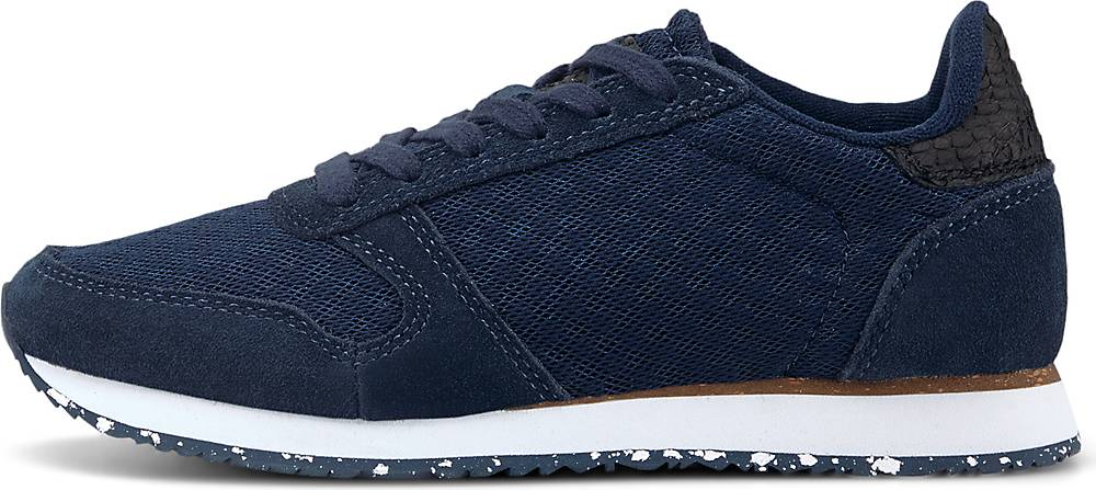 WODEN, Sneaker Ydun Ii in dunkelblau, Sneaker für Damen, Größe: 36