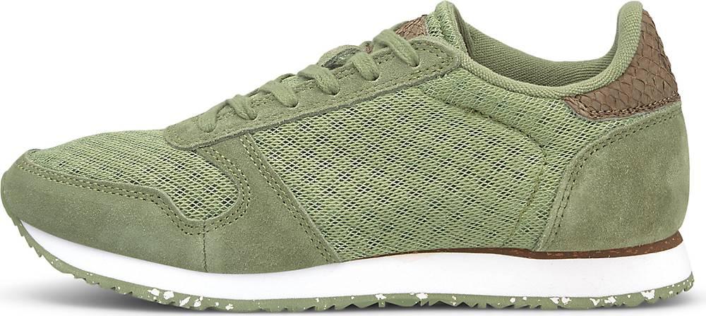 WODEN, Sneaker Ydun Ii in khaki, Sneaker für Damen, Größe: 36