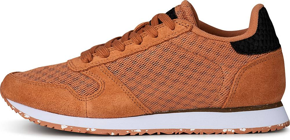 WODEN, Sneaker Ydun Ii in orange, Sneaker für Damen, Größe: 36