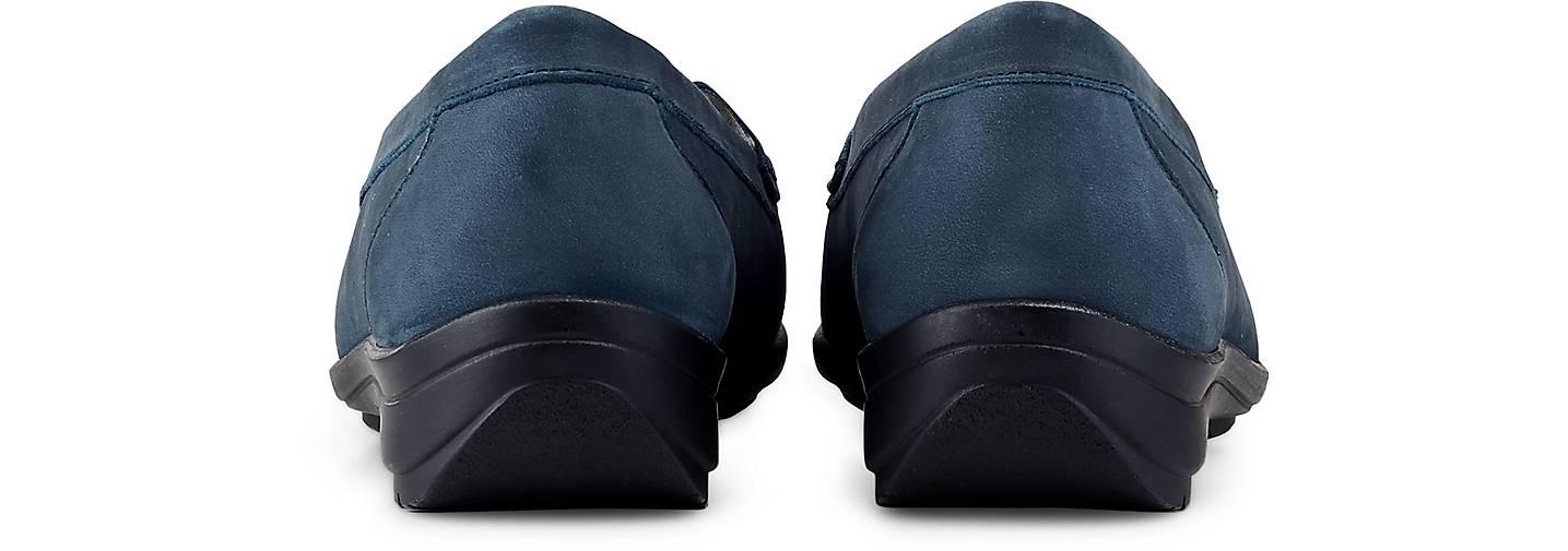 Waldläufer Slipper HINATA H in blau-dunkel blau-dunkel blau-dunkel kaufen - 48396102 GÖRTZ Gute Qualität beliebte Schuhe 9bc266