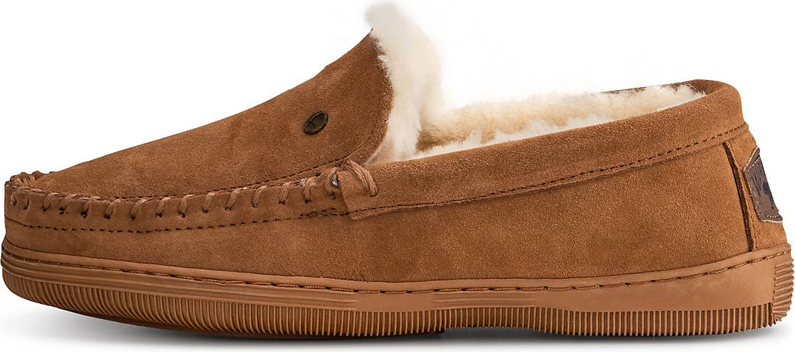 Warmbat Hausschuh Grizzly suede