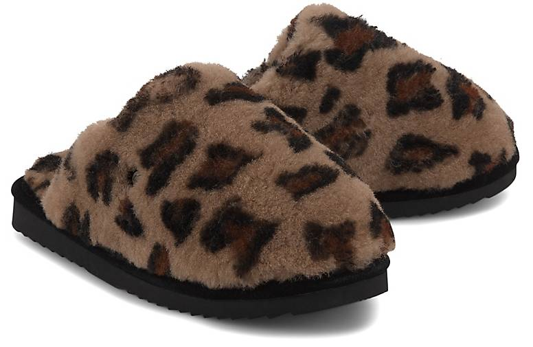Warmbat Hausschuh SPECIAL ANIMAL PRINT
