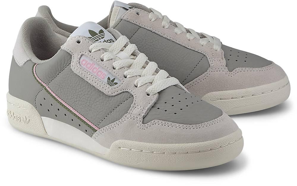 adidas Originals, Continental 80 W in hellgrau, Sneaker für Damen