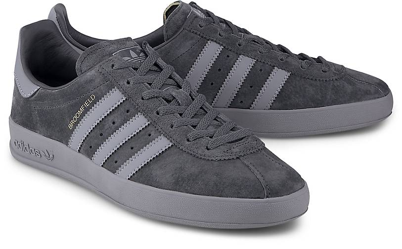 adidas Broomfield Herren Sneaker Grau: : Schuhe