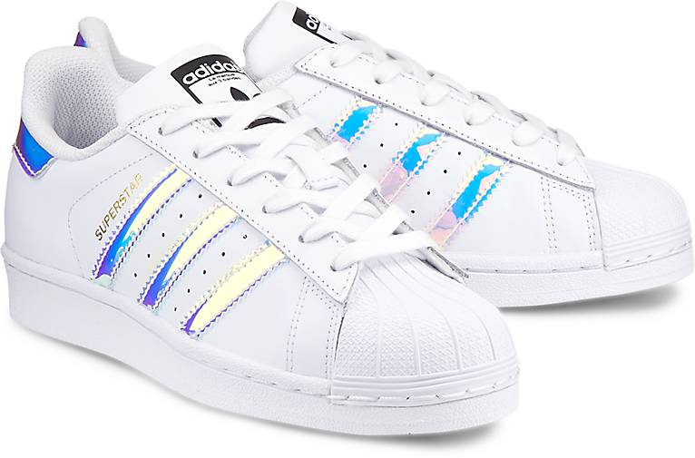 adidas Originals Superstar J Damen Sneaker Weiß |