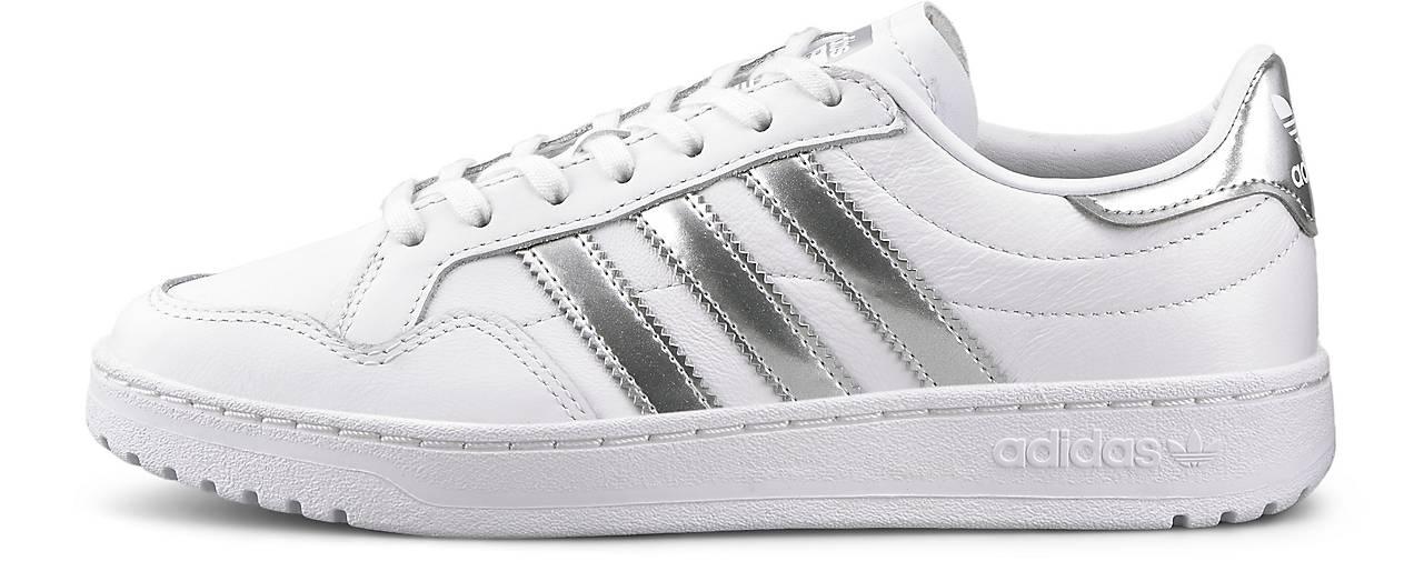 adidas Originals Team Court Sneaker für Damen Weiß