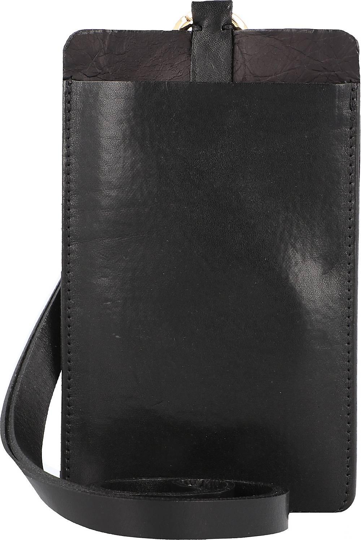 b.belt, Handytasche Leder 10,5 Cm in schwarz, Handyhüllen & Zubehör für Damen