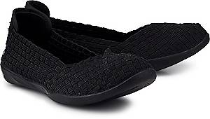 bernie mev., Ballerina Catwalk in schwarz, Ballerinas für Damen