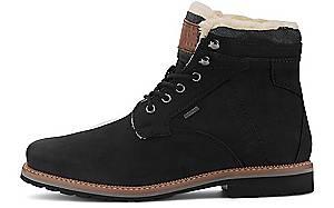 bugatti City, Schnür-Boots in schwarz, Boots für Herren