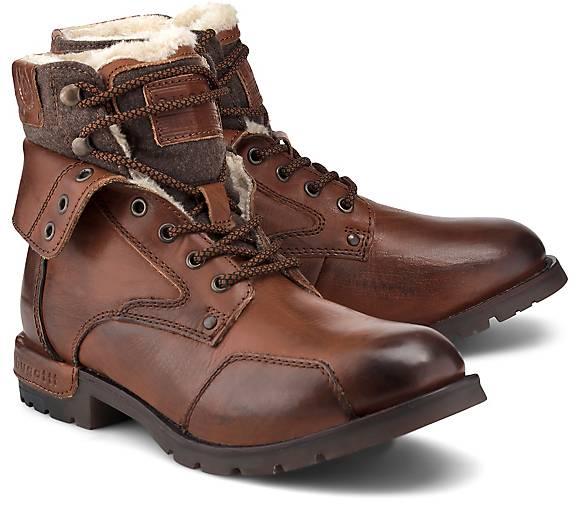 bugatti Denim Schnür-Boots