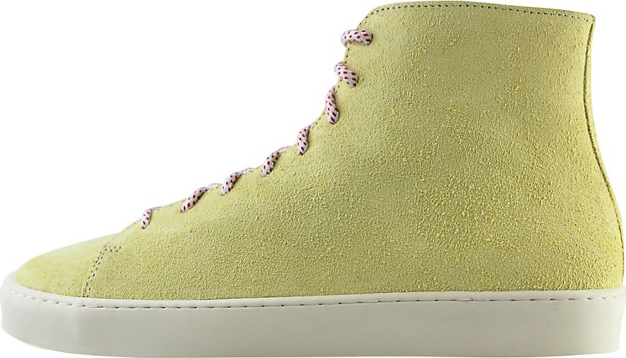 ekn footwear Schnürschuh Oak High Lemon Suede