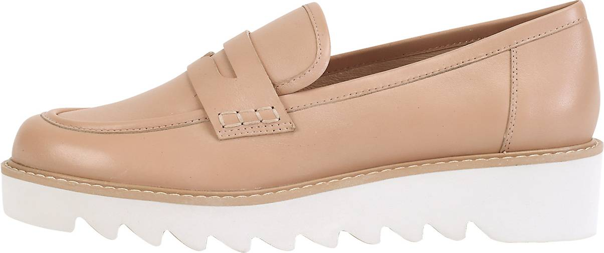 ekonika Loafer aus mattem Leder