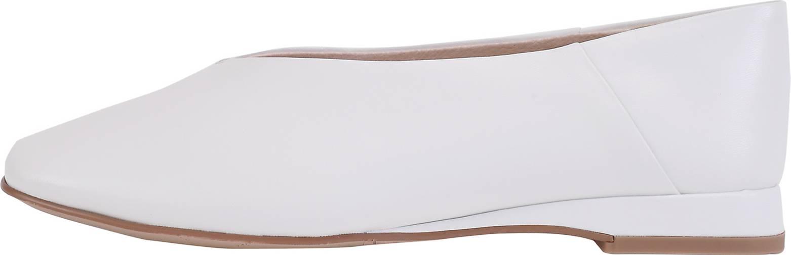 ekonika Slipper aus glattem Leder