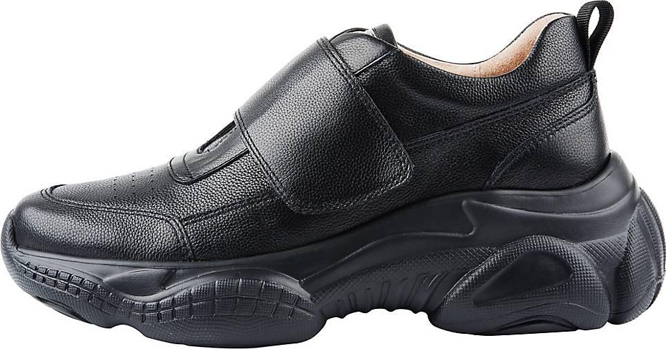 ekonika Sneaker hergestellt aus glattem Leder