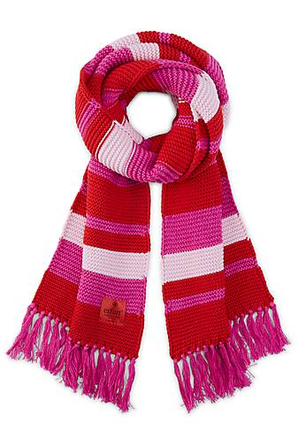 erfurt KNITTED STRIPED SCARF