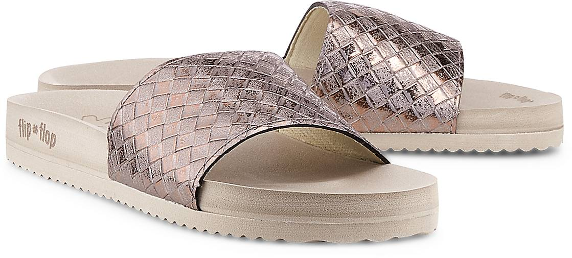flip*flop Sandale POOL - BRAIDED in taupe kaufen - POOL 47608501 | GÖRTZ 77648a