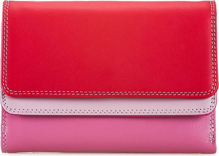 mywalit Double Flap Wallet Geldbörse Leder 13 cm