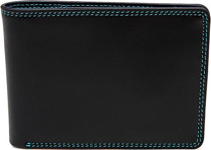 mywalit Jeans Wallet Geldbörse Leder 11 cm