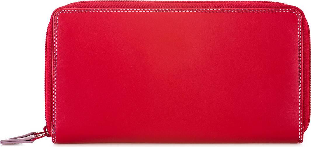 mywalit Medium Tri-fold Geldbörse I Leder 14 cm