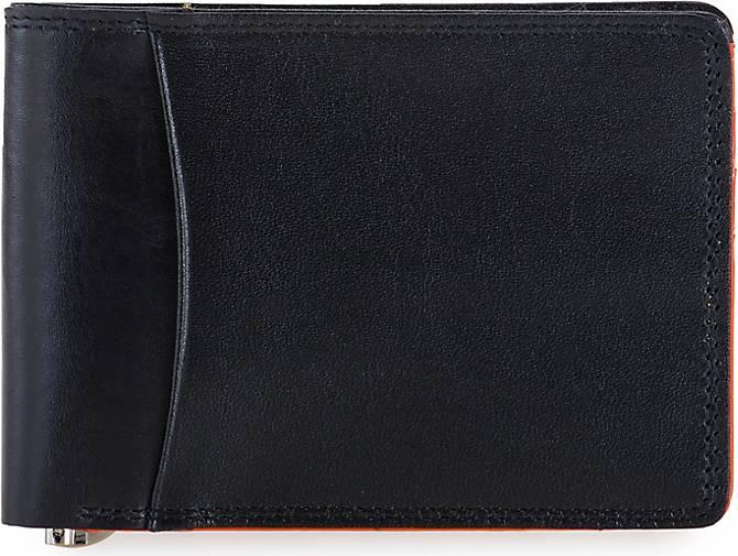 mywalit Slim Geldbörse RFID Leder 11 cm