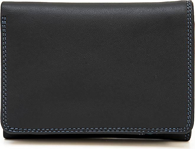 mywalit Tri Fold Wallet Geldbörse Leder 8 cm