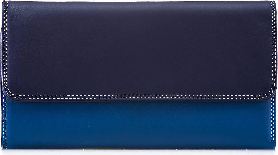mywalit Tri-fold Zip Wallet Geldbörse Leder 17 cm