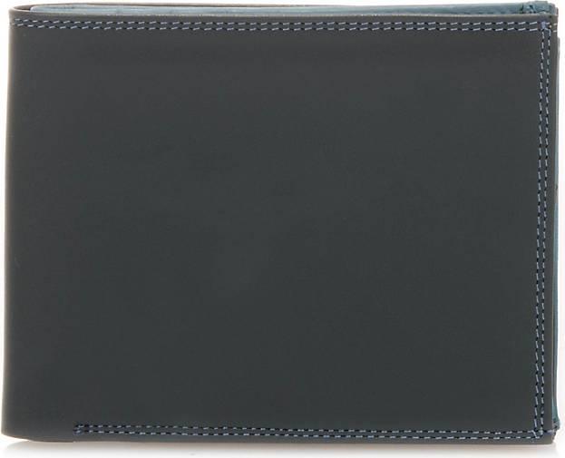 mywalit Wallet Zip Coin Section Geldbörse Leder 12 cm