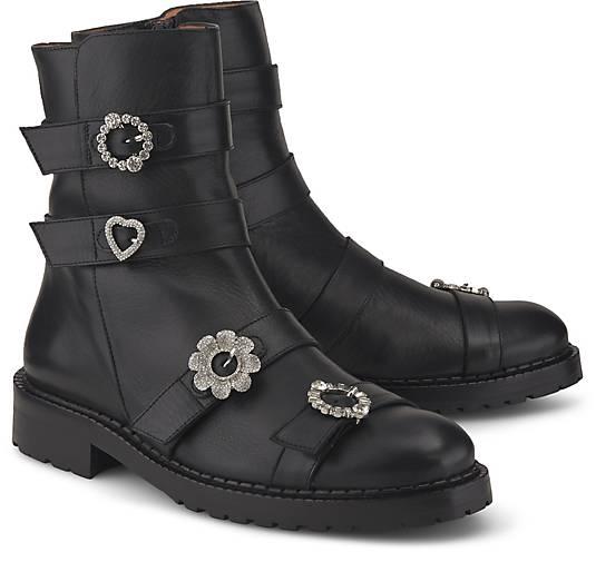 ras Biker-Boots DADA NEGRO