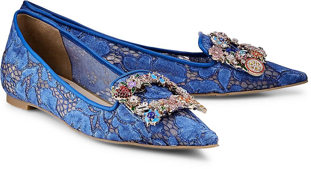 Luxus-Ballerinas von ras in blau für Damen. Gr. 36,37,37.5,38,39,39.5,40,41,42 Preisvergleich
