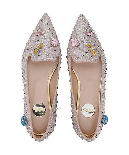 Ras Luxus-Ballerinas in silber kaufen kaufen kaufen - 48432501 GÖRTZ Gute Qualität beliebte Schuhe 1f04ab