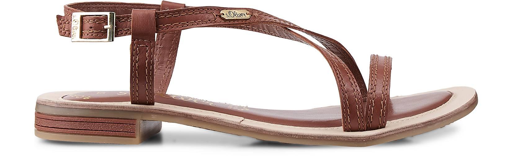 s.Oliver Riemchen-Sandale in braun-mittel GÖRTZ kaufen - 47435302 | GÖRTZ braun-mittel 18bc27