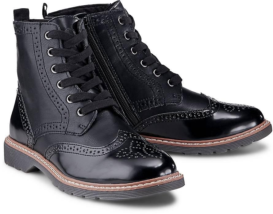 oliver schn r stiefelette boots schwarz g rtz. Black Bedroom Furniture Sets. Home Design Ideas