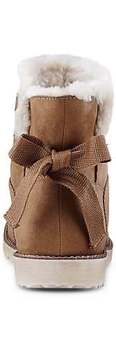 s.Oliver Textil-Bootie in 45946701 braun-mittel kaufen - 45946701 in | GÖRTZ 79d2bc