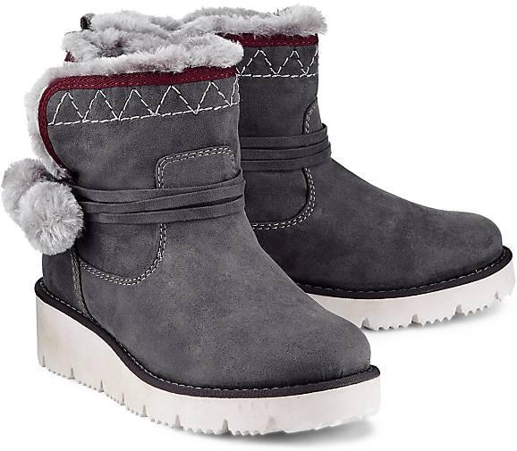 s oliver winter boots in grau dunkel kaufen 47535601 g rtz. Black Bedroom Furniture Sets. Home Design Ideas